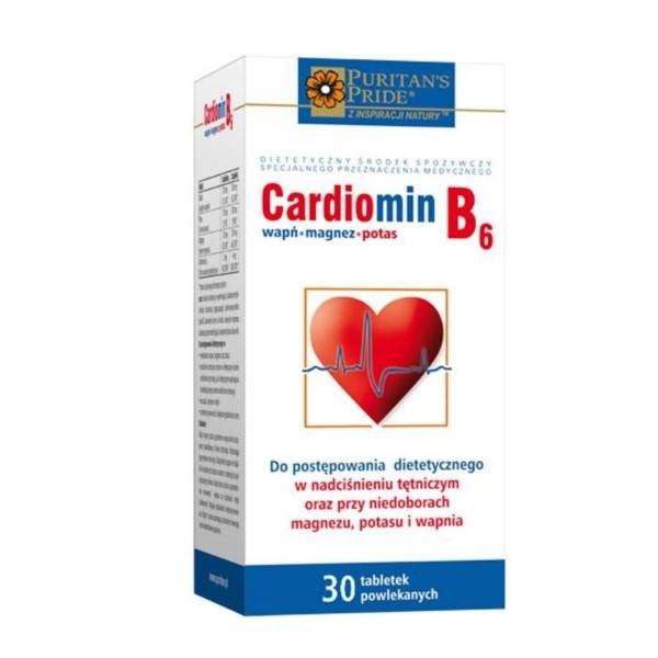 Powrót do zdrowia - Cardiomin b6 - opinie o nieskutecznych tabletkach